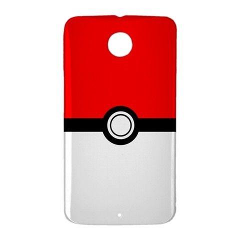 Pokemon Pokeball GO Google Nexus 6 Case Cover