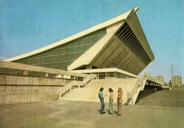 "Hala ""Olivia"", Gdańsk, 1972 /  ""Olivia"" arena, Gdańsk, Poland, 1972"