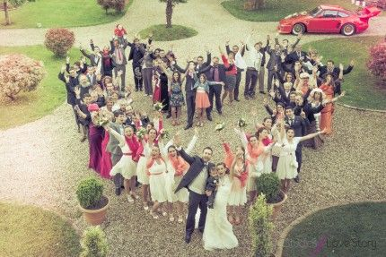 photos de famille originales mariage