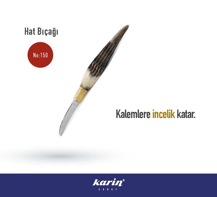 Kalemlere incelik katar. Hat Bıçağı #sanat #güzelsanatlar #art #artmaterials #karinsanat #fineart #artwork #artist