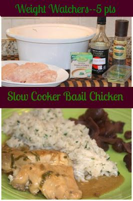 Recipes We Love: Crockpot Basil Chicken - Weight Watchers