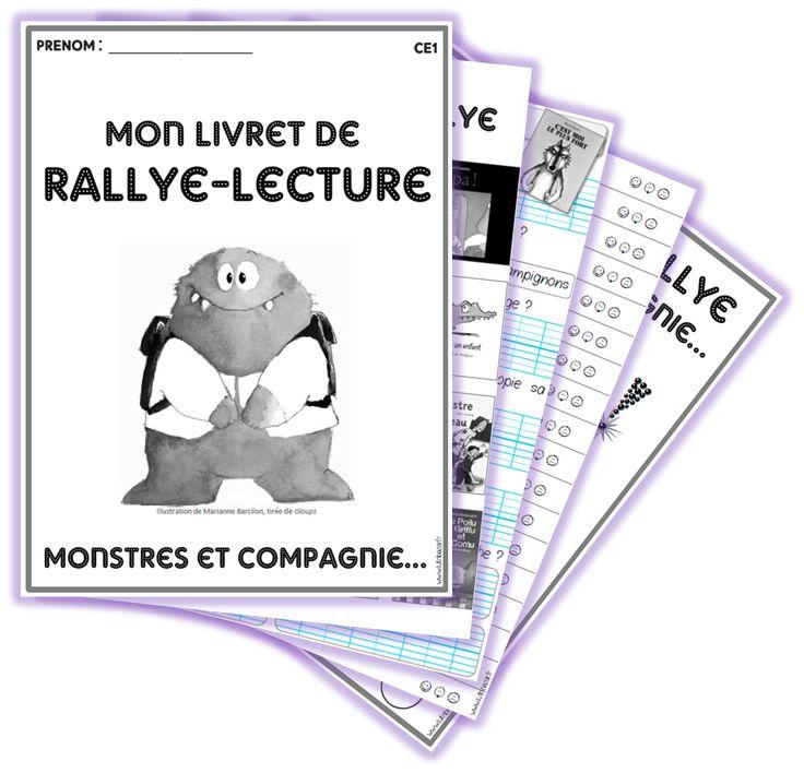201 best images about rallye lecture on pinterest - Effroyables jardins questionnaire de lecture ...