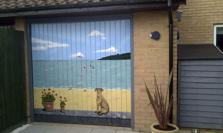 Best 81 art painted garage doors ideas on Pinterest | Door ... on Garage Door Painting Ideas  id=66238