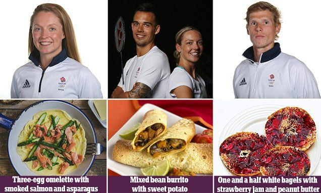 Olympic medalists reveal how they fuel up for swimming, running and boxing | Daily Mail Online