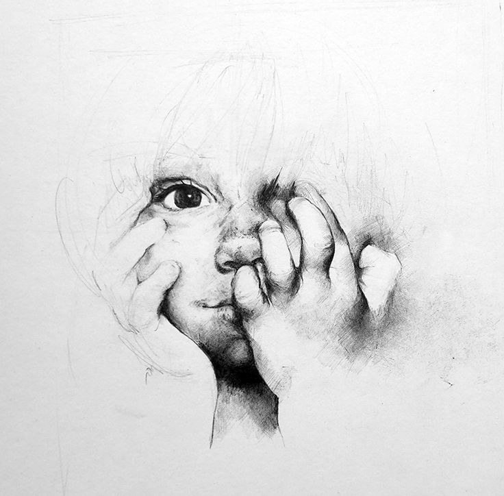 child portrait - unfinished