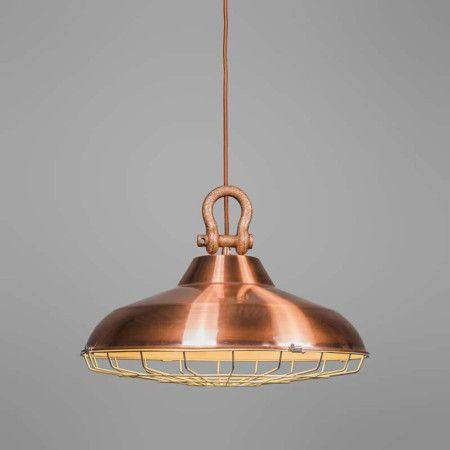 Pendant lamp Strijp Copper