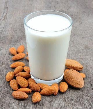 Fresh, homemade almond milk!