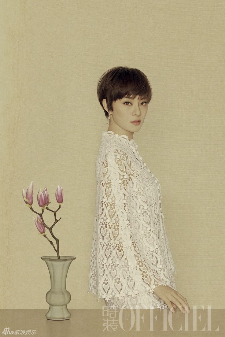 Li Bingbing (and Sun Li) stun with a gorgeous painted style | Cfensi
