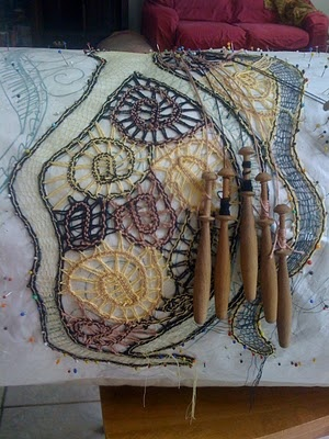 Fantastic lace art by Daniela BanatovaI