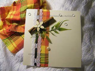 HIBISCUS CREATIONS DECO: Faire part mariage madras Antilles Martinique  https://www.facebook.com/hibiscus.creations.3/photos_albums