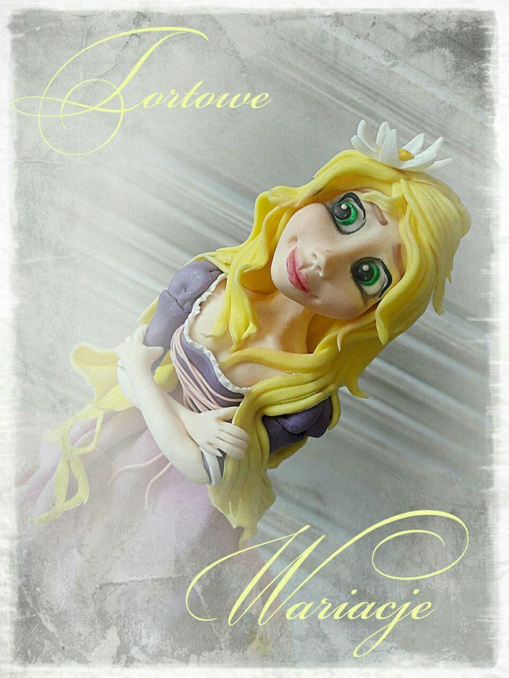 Rapunzel cake Www.facebook.com/TortoweWariacje