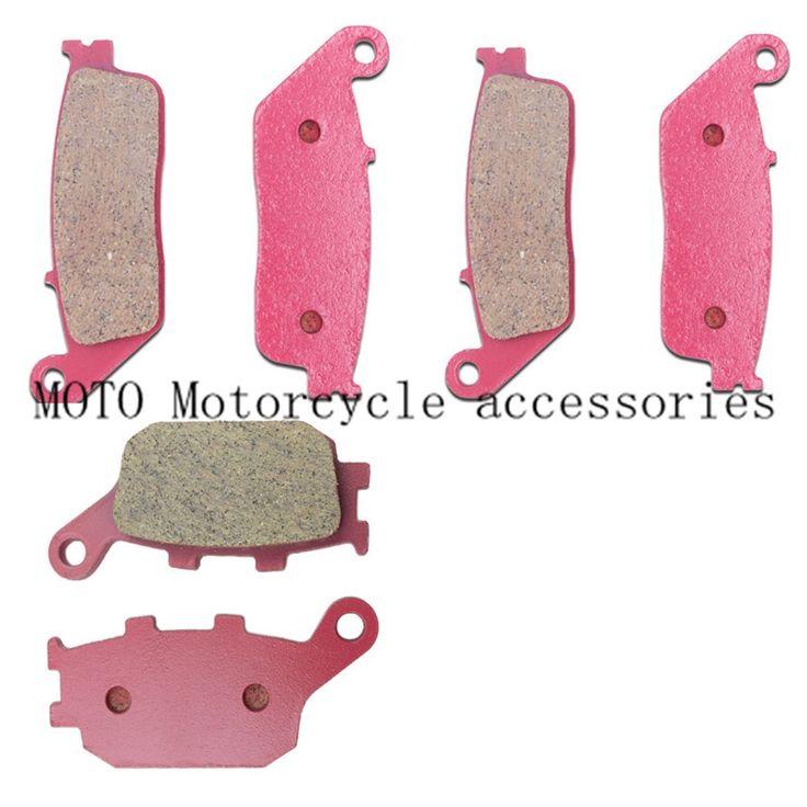 37.95$  Buy now - http://aliyvg.shopchina.info/1/go.php?t=32809558952 - Ceramics Motorcycle Brake Pads Front & Rear For HONDA VTX1300 VTX 1300 2003-04 05 06 2007 2008 CB750 CB 750 1992-99 00 2001 2002  #magazineonline