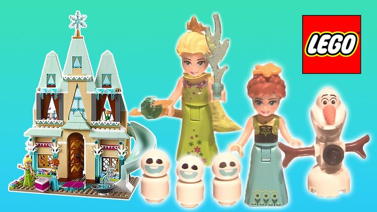 LEGO Disney Frozen Fever Ardendelle Castle Celebration with Anna, Elsa, Olaf and Snowgies unboxing video on Rainbow Toys TV https://youtu.be/0lKOQT-VeS4