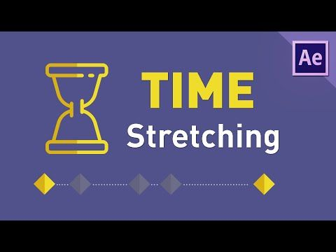 How To Time Stretch Layers & Compositions in After Effects Tutorial - YouTube