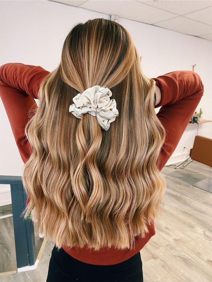 Long Wavy Hair #wavyhair #longhair #hairideas