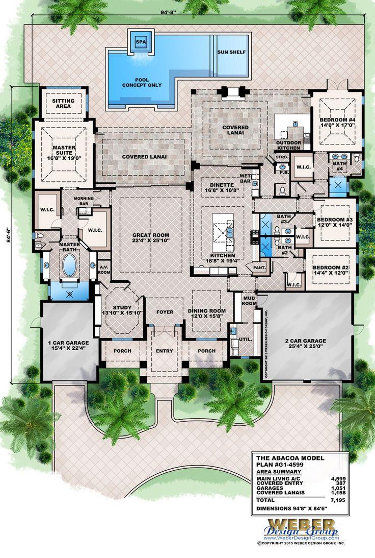 Best 25 caribbean homes ideas on pinterest garden for Florida blueprint