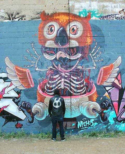 "Artist: Nychos, ""Street Anatomy"""