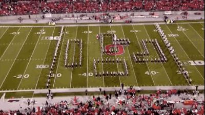 Because they created a giant-sized Tetris… | This Is Why Ohio State University's Marching Band Is Actually The Best Band In The Land