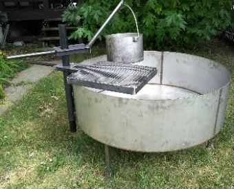 Stainless steel fire pit ring,liners,inserts,spark screens,folding covers,grills,bowls,
