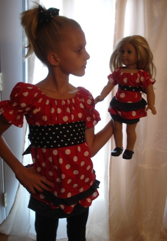 Today, July 25th only, hop on over to Zulily and save up to 80% on select Dollie & Me Outfits!. These doll outfits fit American Girl 18″ dolls perfectly, and they'll make for adorable pictures with your daughter and her doll.