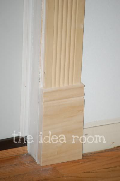 58 best images about baseboards on pinterest work basics for Decorative door frame ideas