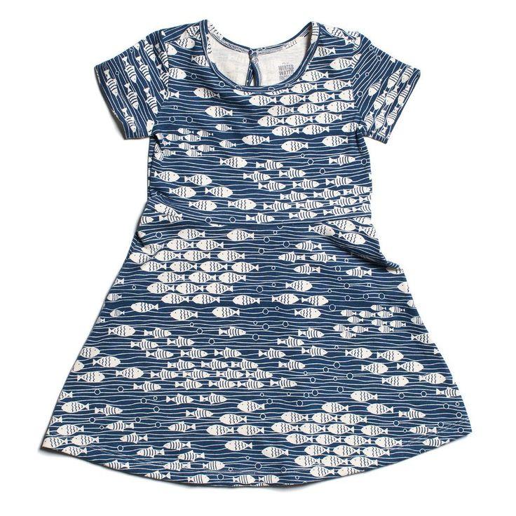 Navy Under The Sea Casablanca Dress