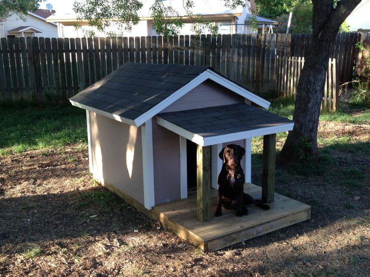 32 best Dog Houses images on Pinterest | Dog house plans, Doggies ...