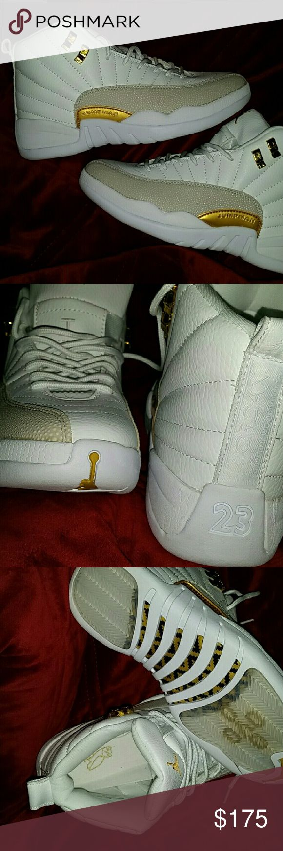 Jordan retro 12's ovo size 8 men's Never worn Jordan retro 12 ovo was sent the wrong size and they didn't have the correct size to switch them trying to get some of my money back size 8 in men's Jordan Shoes Athletic Shoes