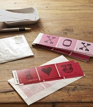 """This is from a list of 101 Valentine celebration ideas posted on the blog: Mudpiestudio on blogspot. The owner says it is her first """"list"""". I hope it isn't her last! WOW so many good ideas.: Craft, Idea, Paint Chips, Paint Swatch, Paintchip, Paint Sample, Valentines Day, Card, Valentine S"""