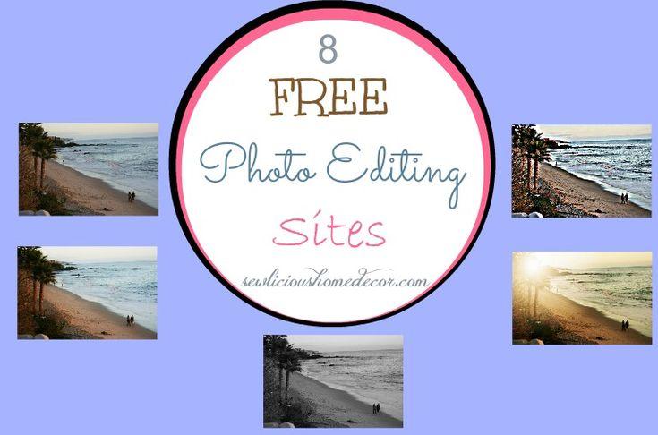 | Best FREE Online Photo Editing Sites-Friday Freebies | http://sewlicioushomedecor.com