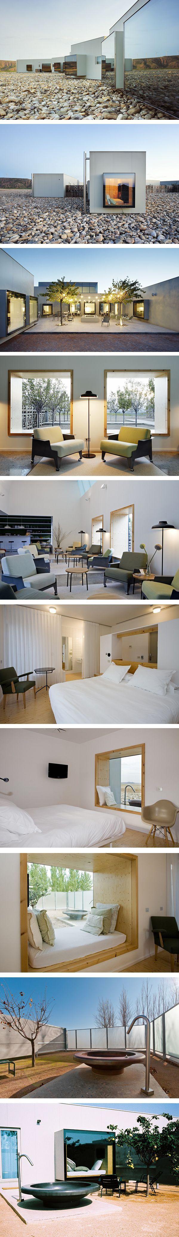 hotel Aire de Bárdenas Spain Espana design architecture                                                                                                                                                                                 Más