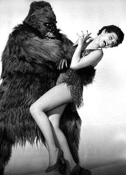 Gorila sex and girl — 14