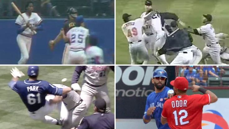 Admit it, you like a good baseball fight. These are some of the best, weirdest and most entertaining of the past 40 years.
