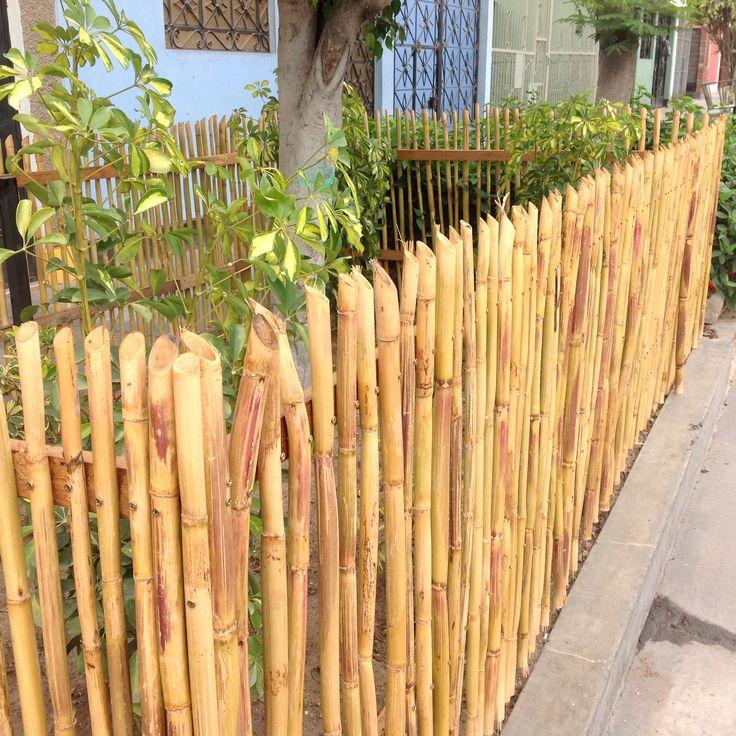 Cerco de carrizo jardin pinterest for Tanatorio los jardines carrizo