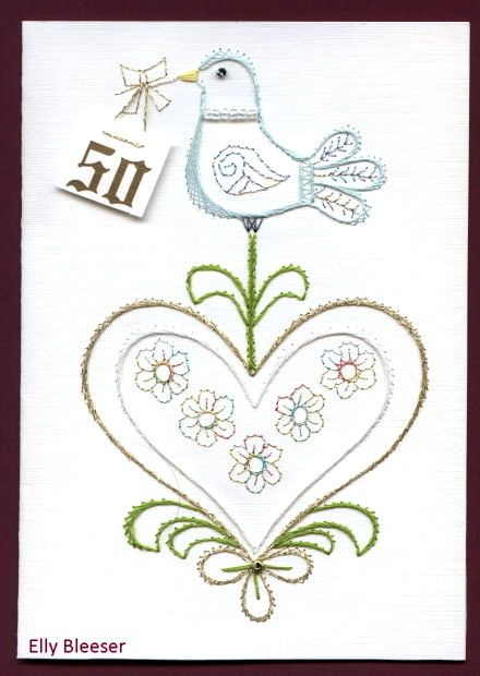 Best images about embroidery on paper wedding