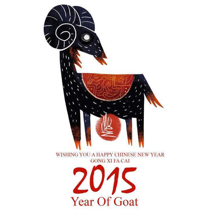 Happy Chinese New Year 2015 #chinesenewyear #gongxifacai #yearofgoat