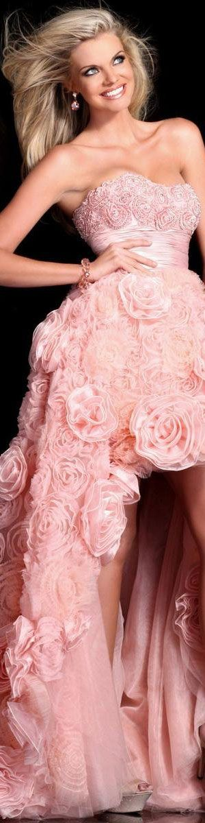 Haute Couture Sherri Hill -- love the dress except please cover 'the girls' more to be a lady.