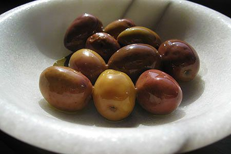 My preferred method of curing olives - in a brine, is covered in the second half of this article.