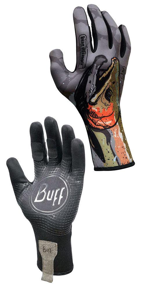 Buff MXS fishing gloves