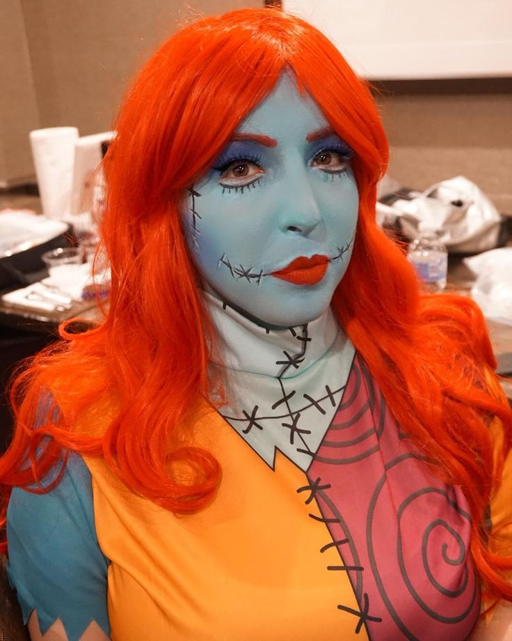 Sally makeup for an awesome event today! Halloween Party for Childrens Hospital of Philadelphia sponsored by the Phillies and brought to you by @kndanceandentertainment !  #kndanceandentertainment #CHOP #phillies #halloweenparty  - - - - - - - #halloweenmakeup #halloween #halloween2017 #undiscovered_muas #mua #sfxmua #sfx #mehron #mehronparadisepaint #graftobianpropaint #graftobian #nightmarebeforechristmas #jackandsally #sallynightmarebeforechristmas #sallymakeup #makeupartistsworldwide…