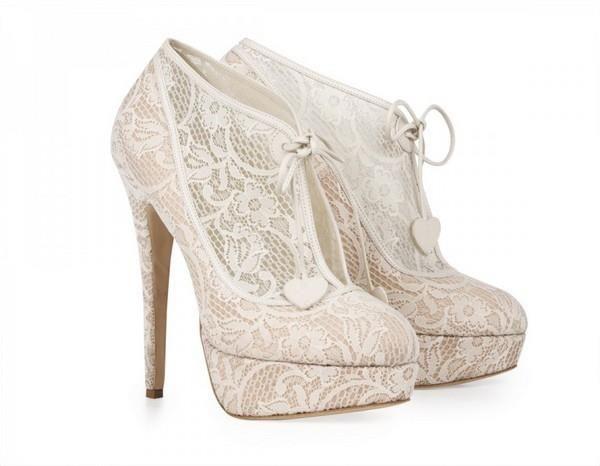 Белая обувь для свадьбы