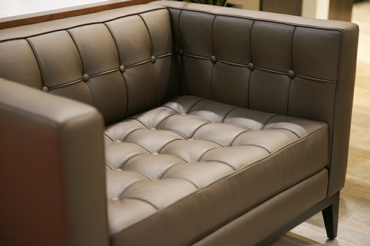 The Luxe Chair-and-a-Half. This is luxury. @Home & Garden Events #NationalHomeShow