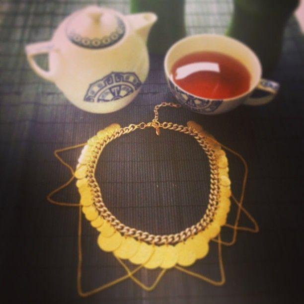 Hermina wristwear necklace