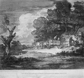 Landscape - Томас Гейнсборо