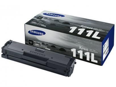 Cartucho de Tinta Samsung Preto - MLT-D111L com as melhores condições você encontra no Magazine Raimundogarcia. Confira!