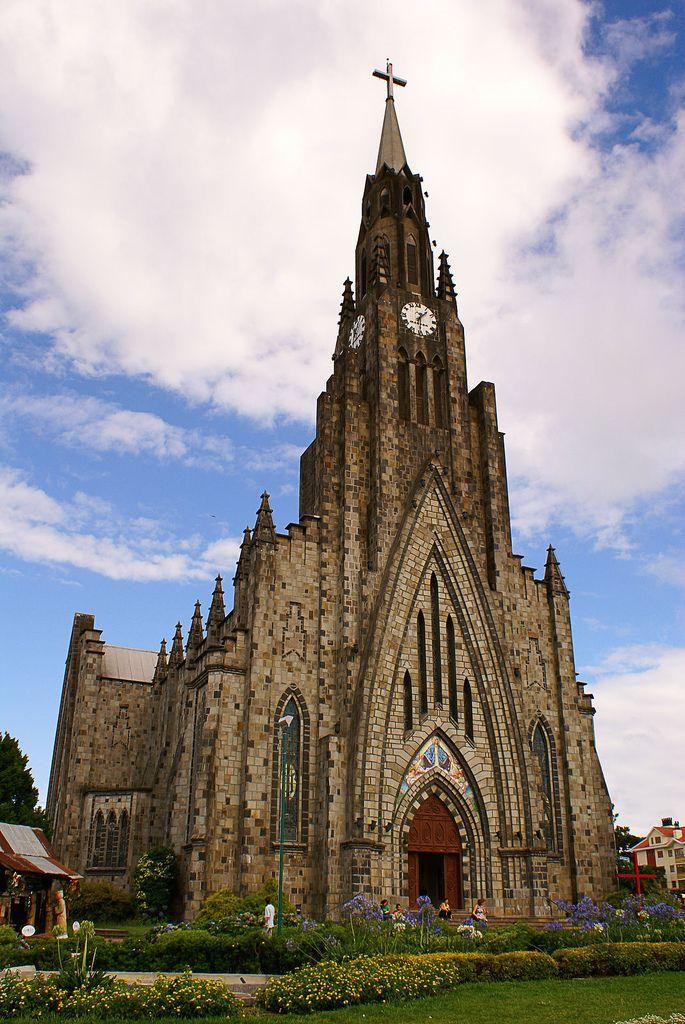 Catedral de Pedra (Cathedral of Stone) , Canela, Rio Grande do Sul State, Brazil