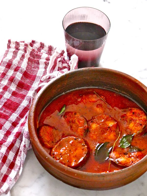 Plateful: Red Fish Curry — Meen Vevichathu