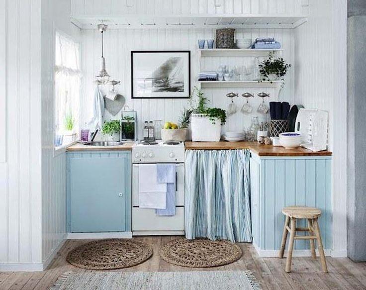 Inspiração: 15 cozinhas pequenas