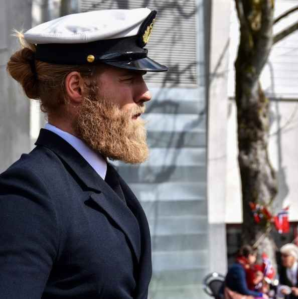 Lasse Matberg is a 6-foot 6-inch lieutenant with the Royal Norwegian Navy and a sports officer at the NATO Joint Warfare Center. But in addition to serving his country, Matberg has one very noticeable and distinguishing characteristic…