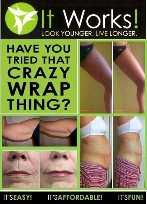Just amazing before and after! It Works Skinny Wraps really work, with real results in as little as 45 minutes! http://wrapmeupjess.myitworks.com/